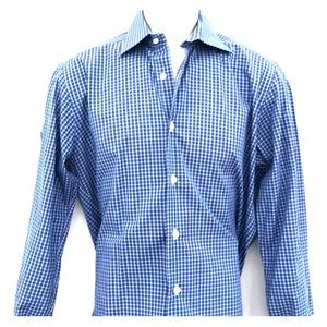 David Donahue men's dress shirt trim 15.5/33